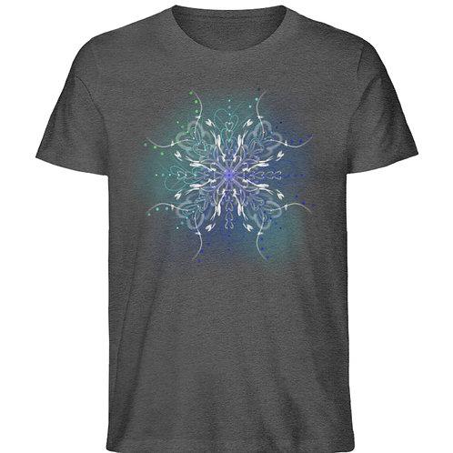 zauberhaftes Fairytail Mandala  - Herren Organic Melange Shirt