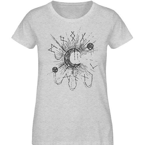 WICCA - MOON MAGIC  - Damen Organic Melange Shirt