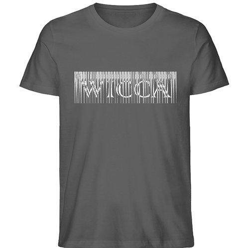 Wicca Slogan für alle Hexen und Magieliebhaber  - Herren Premium Organic Shirt