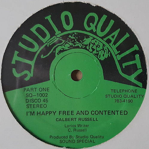 Calbert Russell -I'm Happy Free and Contented