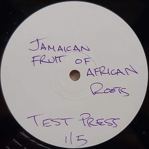 "Sheila Rickards.. - Jamaican Fruit of African Roots 12"" TEST PRESS."