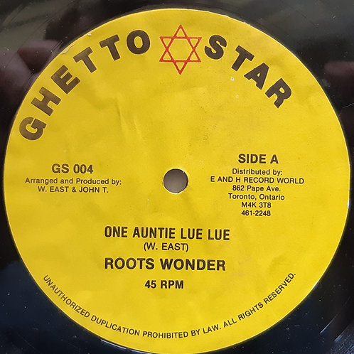 """Roots Wonder- One Auntie Lue Lue 12"""""""