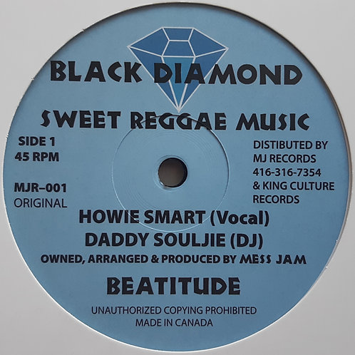 "Howie Smart + Daddy Soujie -Sweet Reggae Music 12"" RP"
