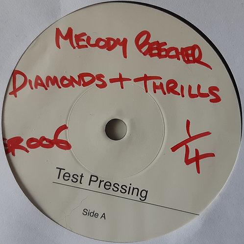 "Melody Beecher - Diamonds & Thrills 7"" TEST PRESS"