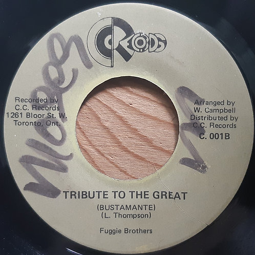 Fuggie Brothers -Tribute To The Great (Bustamante)