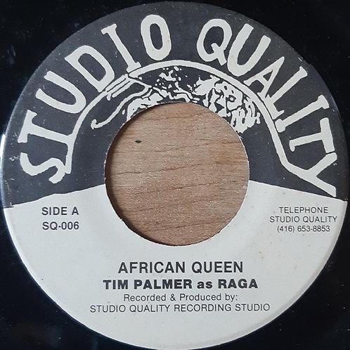 Tim Palmer as Raga -- African Queen