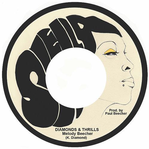 "Melody Beecher - Diamonds & Thrills 7"""
