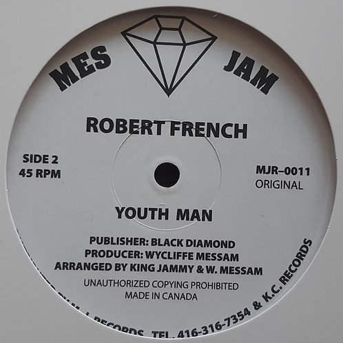"Robert French -Youth Man 12"" RP"