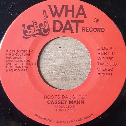 Cassey Man -- Roots Daughter