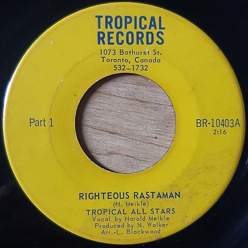Harold Meikle - Righteous Rastaman