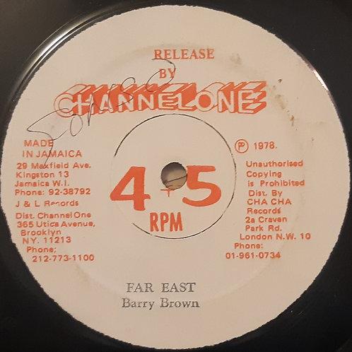 "Barry Brown - Far East 12"""