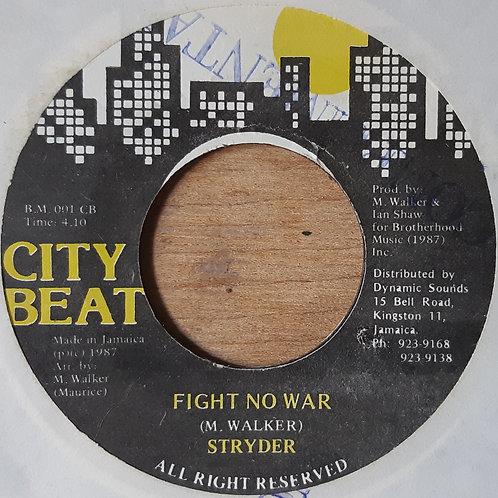 Styder -Fight No War
