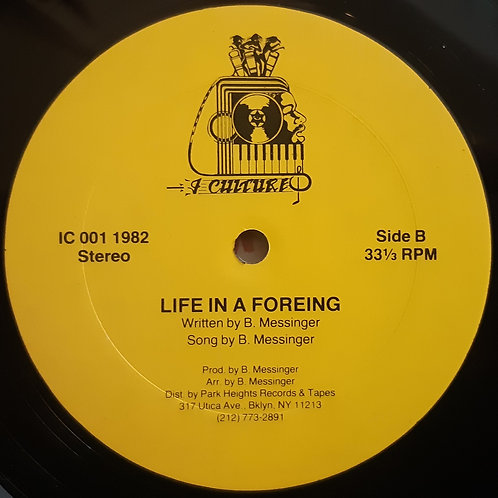 B. Messinger -Life In A Foreign