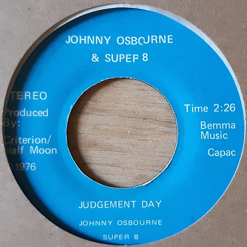 Johnny Osbourne- Judgement Day. In Stock.