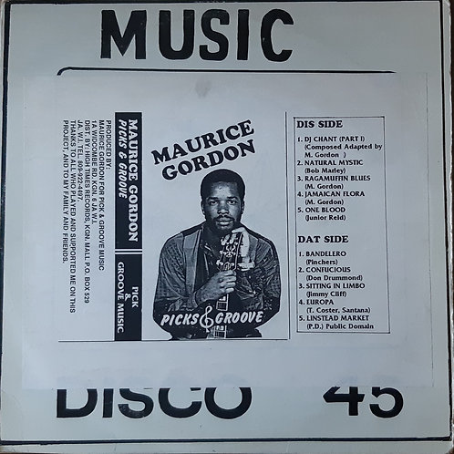 Maurice Gordon- Picks and Groove