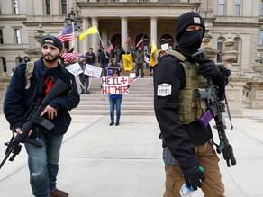 US Far-Right in Revolt Against Lockdown