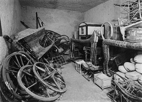 Chariots in King Tut's Tomb.jpg