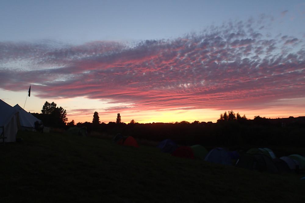 Sunset over Boneyard
