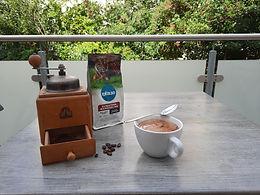 Paket mit unterschiedlichem Kaffee aus Indonesien