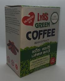 Grüner Kaffeebohnen Extrakt