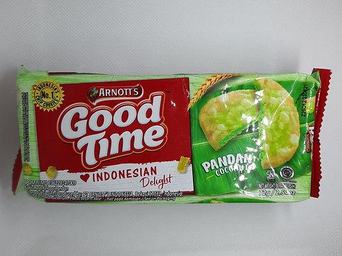 Pandan Kokosnuss Cookies aus Indonesien