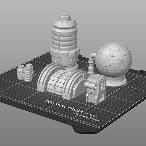 Fuel Tanks & Capacitors - Set 1