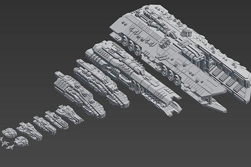 SSA Spaceship Fleet
