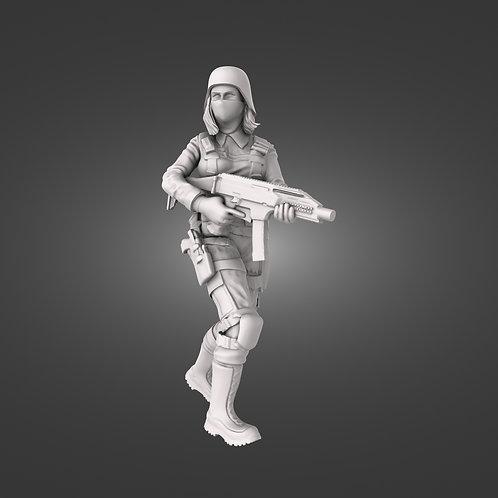 Black Iron Infantry SMG - Scorpion