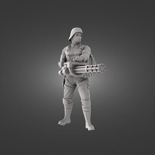 Black Iron Infantry - Rail Gunner