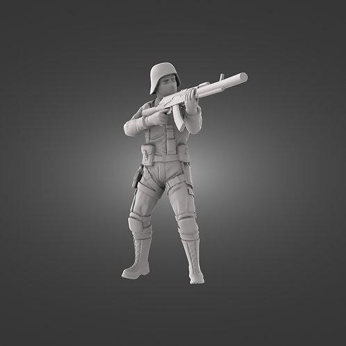 Black Iron Infantry Assault - AK47, M4 & M16