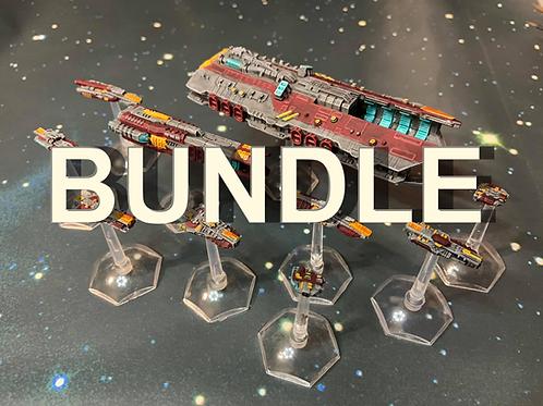 BUNDLE All 3 Space Fleets, plus the Civilian Ships, Pirate Ships, Kraken & More