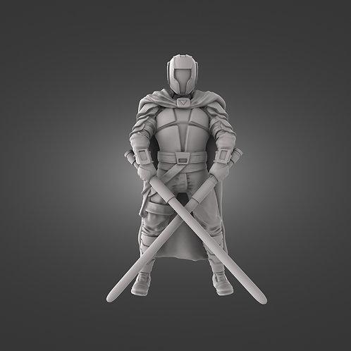 Commander Veil - Dual Sabers