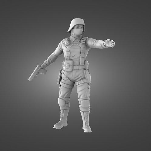 Black Iron Infantry  - Leader #1