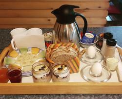 le petit déjeuner prêt à livrer