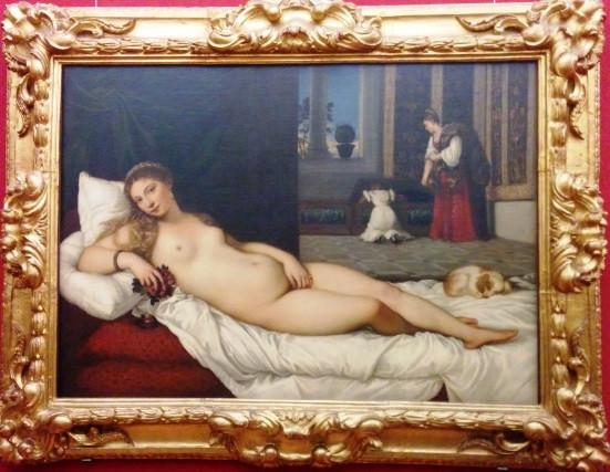 ונוס מאורבינו, 1534 טיציאן