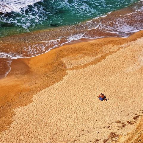 חוף הים בארסוף קדם