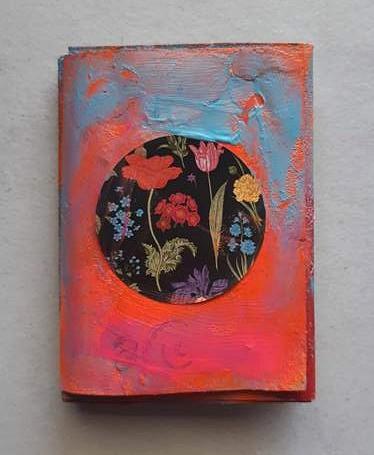 איך להכין לוח חזון ברוח ה-Art journaling