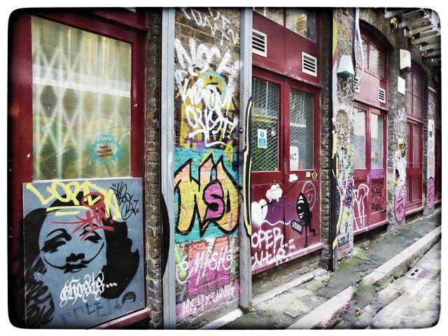 סיור גרפיטי בשורדיץ, לונדון