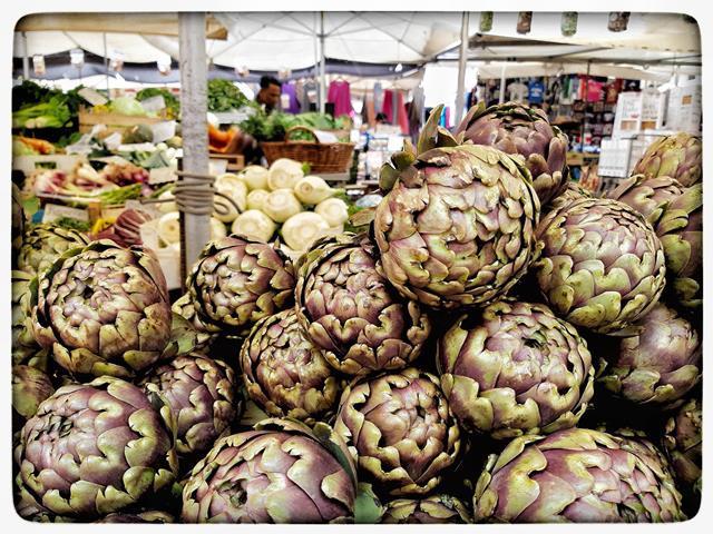 שוק קמפו די פיורי, רומא