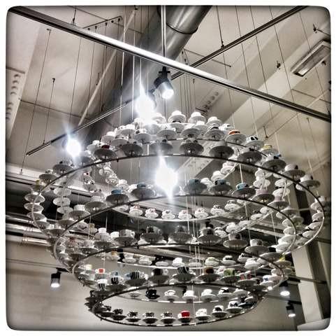 מנורה מספלי אספרסו -Eataly