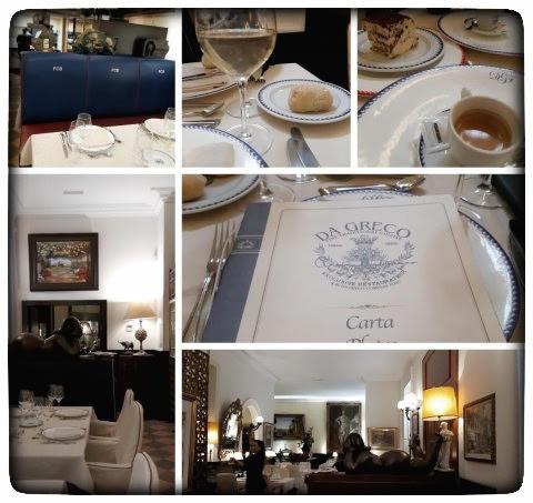 מסעדה איטלקית בברצלונה DA GRECO
