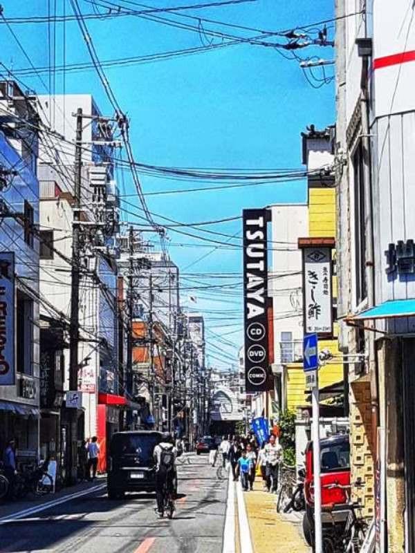 חנות משחקי וידאו,קיוטו, יפן - Tsutaya