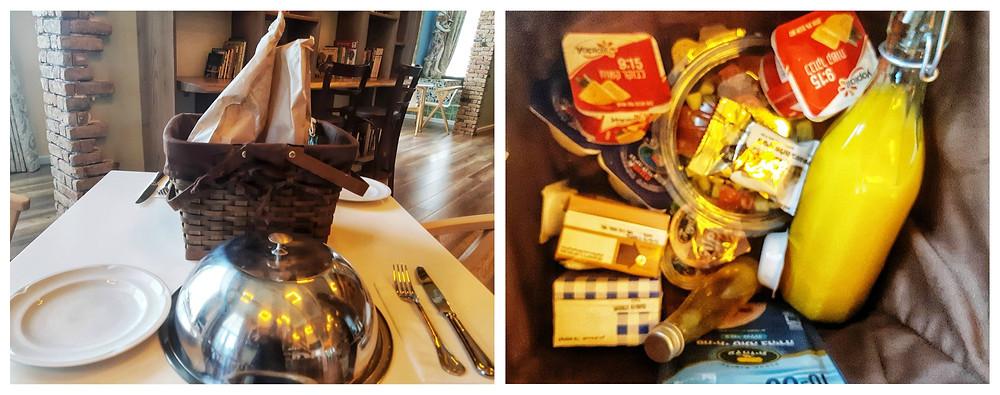ארוחת בוקר מלון בוטיק קאזה נהריה