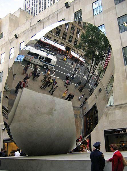 Sky Mirror, Anish Kapoor, 2006, New York