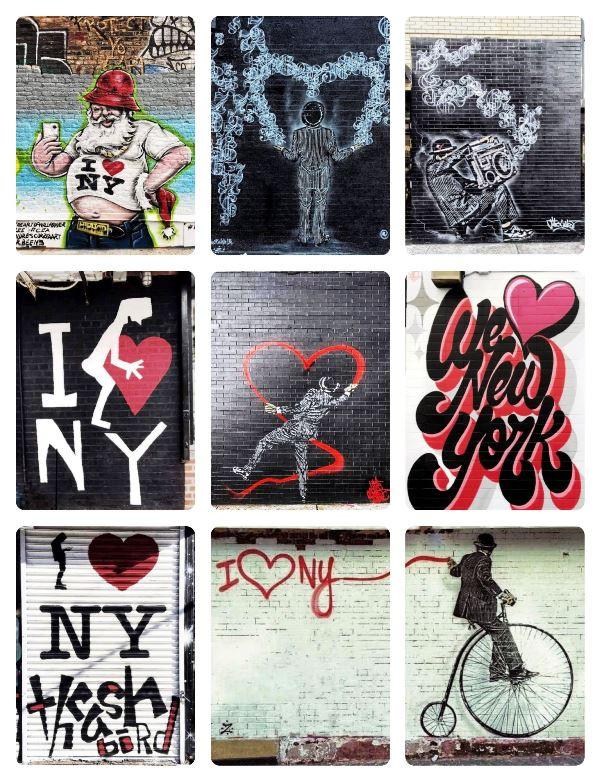 ציורי קיר בניו יורק, צילם: זיו הלפמן