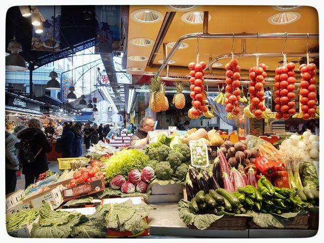 שוק בוקרייה בברצלונה