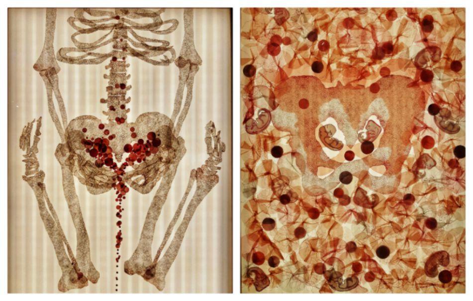 מימין: פרו ורבו, אנדי ארונוביץ, 2019   משמאל: שעשני כרצונו, אנדי ארונוביץ, 2019