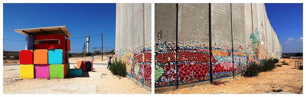 נתיב לשלום - פסיפס על חומת הגבול