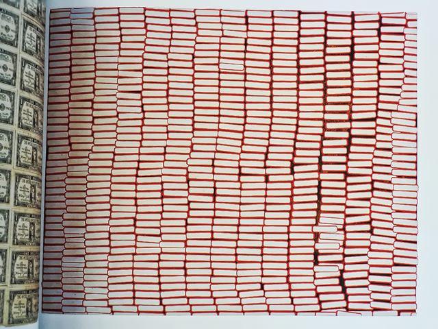 Yayoi Kusama, Accumulation of stamps, 63 1962