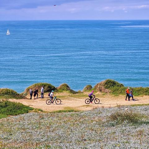 טיולי אופניים על המצוק בארסוף קדם